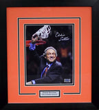 Eddie Sutton Autographed Oklahoma State Cowboys 8x10 Framed Photograph