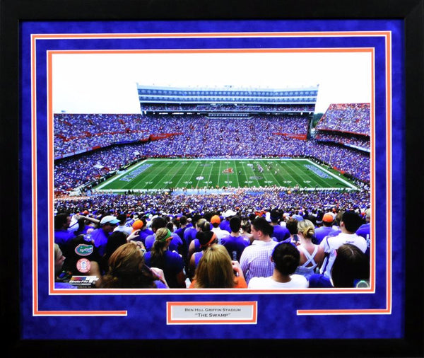 Florida Gators Ben Hill Griffin Stadium 16x20 Framed Photograph
