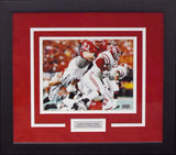 Jared Tomich Autographed Nebraska Cornhuskers 8x10 Framed Photograph