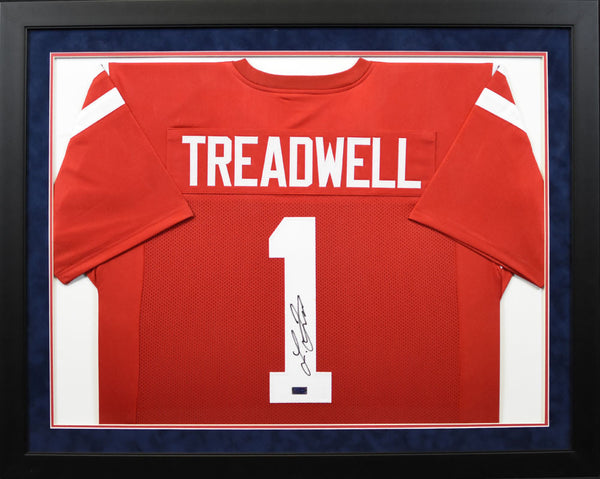 Laquon Treadwell Autographed Ole Miss Rebels #1 Framed Jersey