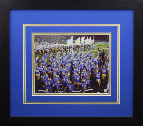 UCLA Bruins Entering Field 8x10 Framed Photograph