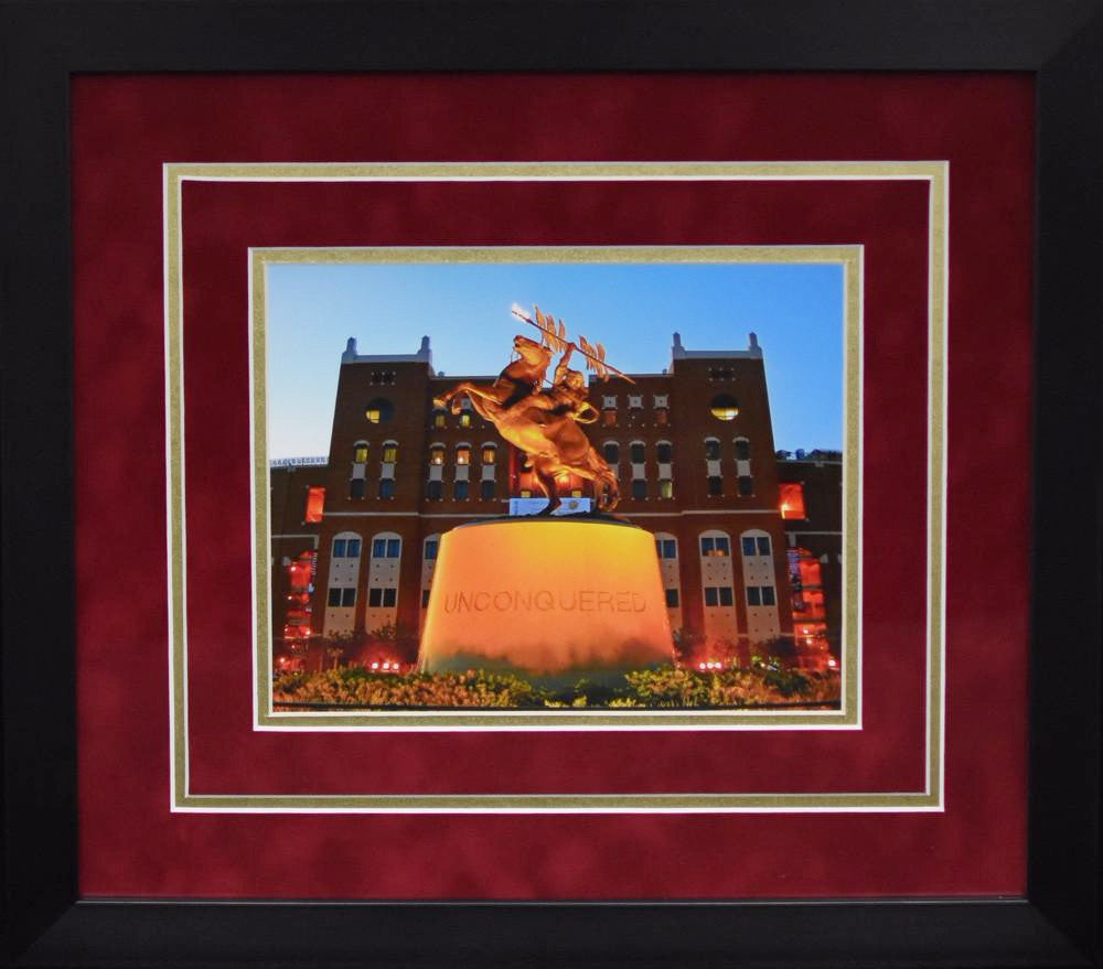 Florida State Seminoles Unconquered Statue 8x10 Framed Photograph ...