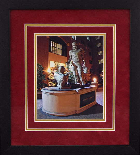Florida State Seminoles Sportsmanship Statue 8x10 Framed Photograph