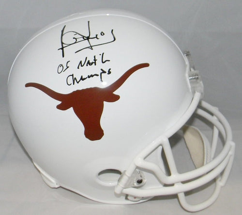 Vince Young Autographed Texas Longhorns Riddell Full Size Helmet