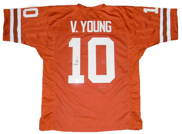 Vince Young Autographed Texas Longhorns #10 Jersey