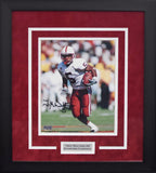 Troy Walters Autographed Stanford Cardinal 8x10 Framed Photograph