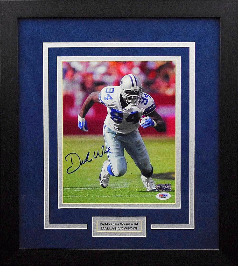 115459589 Demarcus Ware Autographed Dallas Cowboys 8x10 Framed Photograph ...