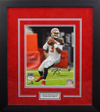 Jameis Winston Autographed Tampa Bay Buccaneers 8x10 Framed Photograph