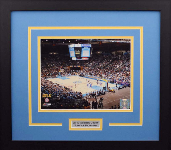 UCLA Bruins Pauley Pavilion 8x10 Framed Photograph #1