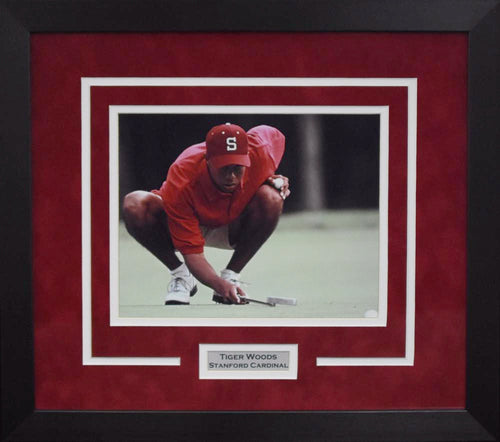 Tiger Woods Stanford Cardinal 8x10 Framed Photograph