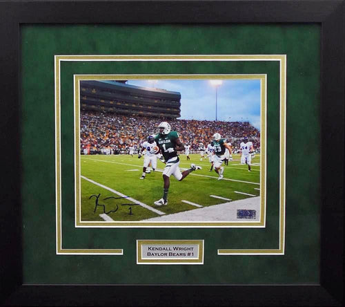 Kendall Wright Autographed Baylor Bears 8x10 Framed Photograph