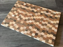 Random Block Cutting Board