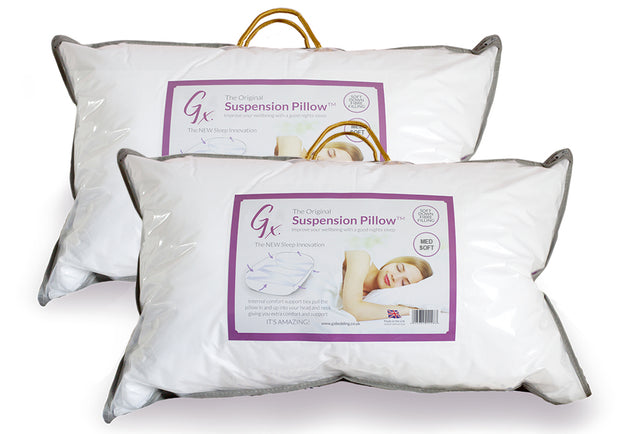 Twin Pack (2 x Gx Suspension Pillows - 2nd Generation)