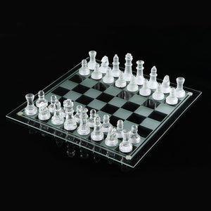 Luxury Glass Chess Set