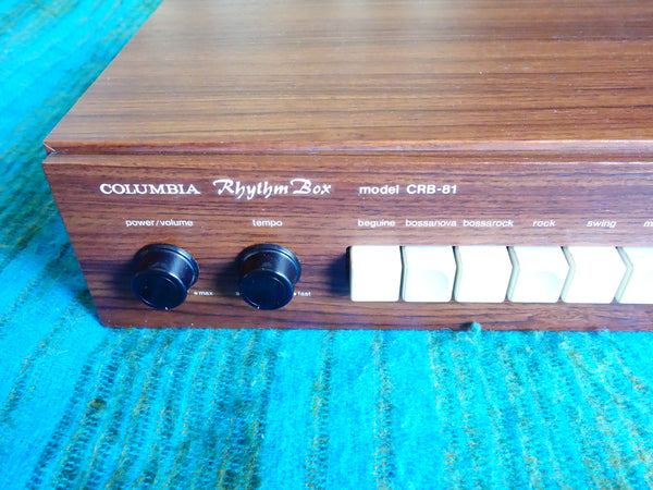 Columbia CRB-81 Rhythm Box - Rare 70s Japan Vintage Drum Machine - - E95