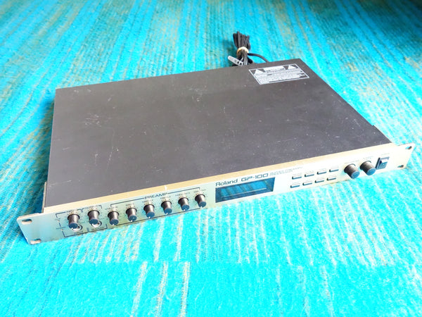 Roland GP-100 Guitar Preamp Processor - Vintage Rack Guitar Preamp - E264