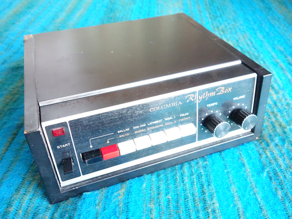 COLUMBIA Rhythm Box CRB-101 Drum Machine - Overhauled + Recapped - C507