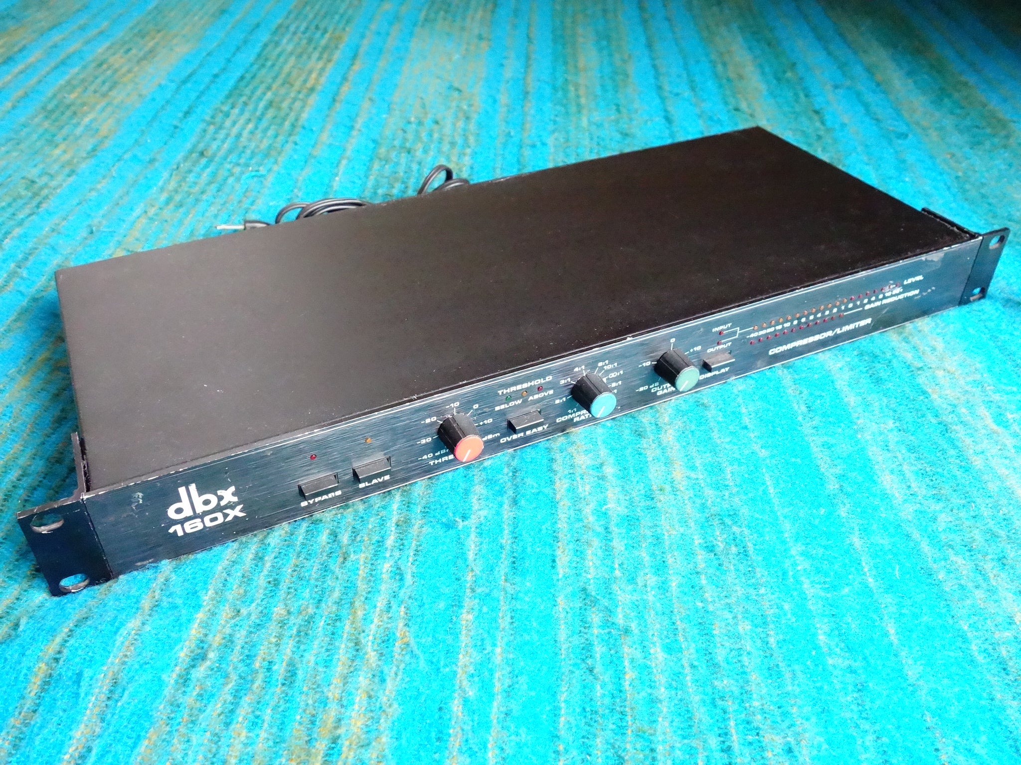 DBX 160X Compressor / Limiter - Vintage Compressor Made in Japan Model - E296