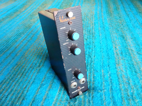 Vesta Fire MPS-1 Phase Shifter - 4U Rack Mount Phaser Rare 80s Vintage - E344