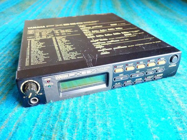 Yamaha FX550 Guitar Simul Effect Processor / Multi-Effects 90's Vintage - F66