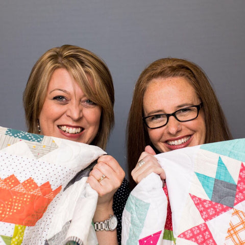 Inspiring Stitches Creators - Amy Ellis and Heather Valentine