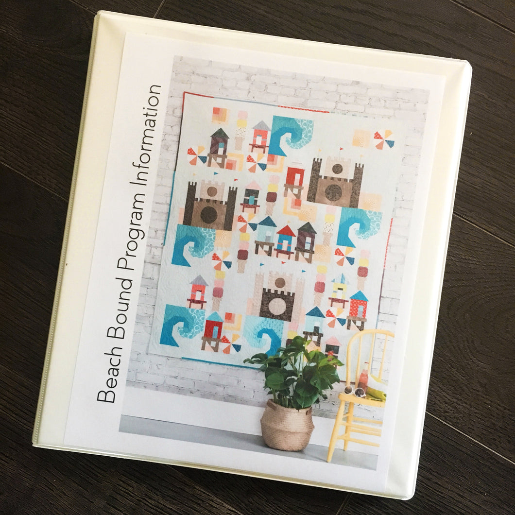 Beach Bound - Printed Binder