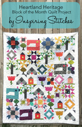 Set of 6 Heartland Heritage Postcard Patterns - Wholesale