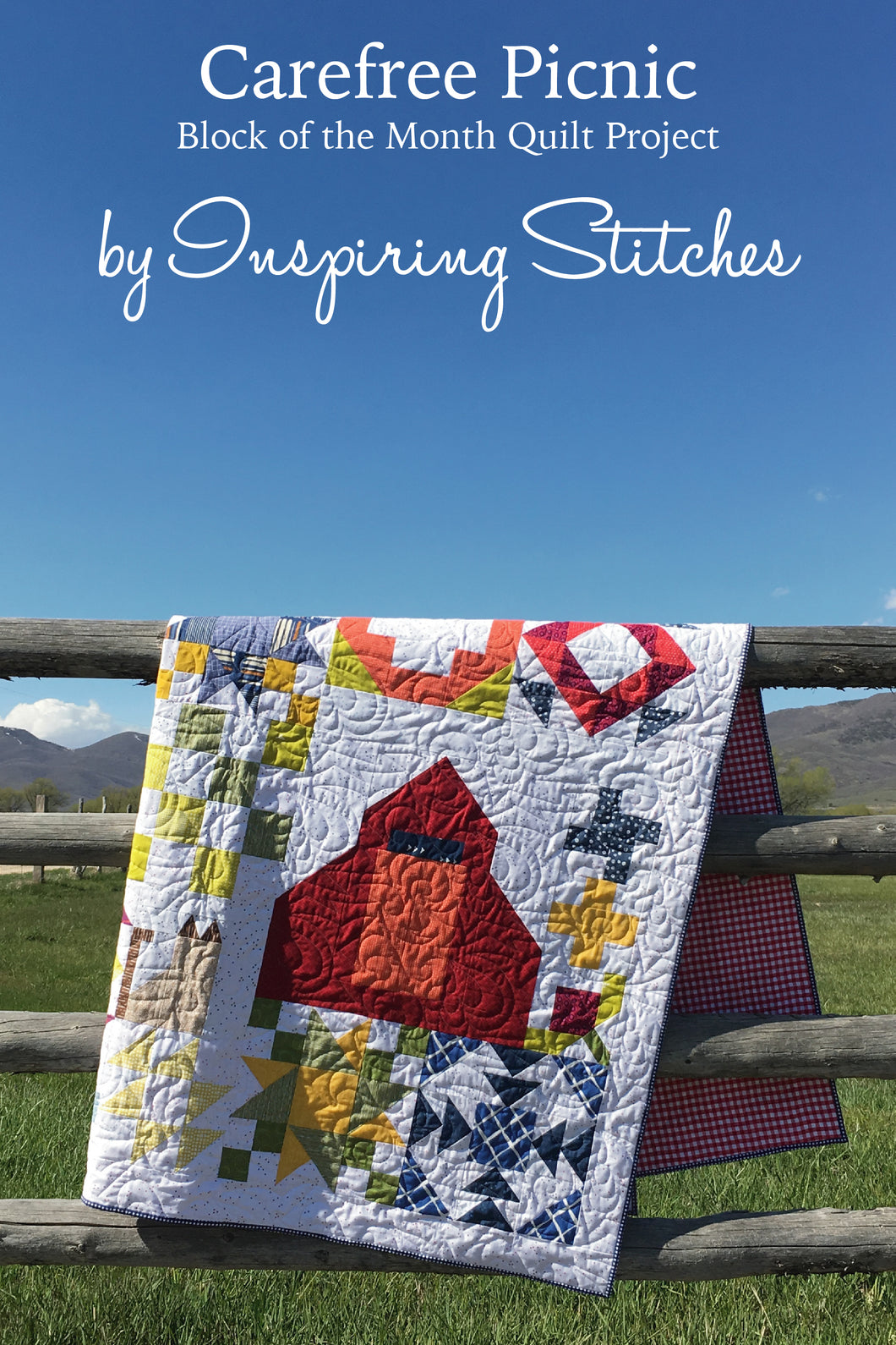 Carefree Picnic - 12 Month Block of the Month Pattern