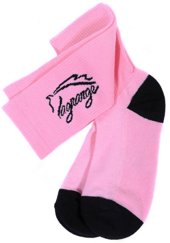 Ladies LaGrange Pink Boot Sock