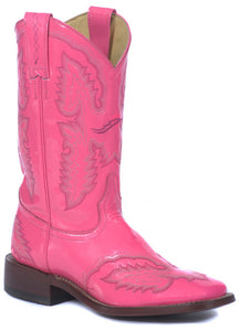 Pink Patent Leather Boot