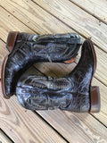 Chocolate American Alligator Comfort Boot