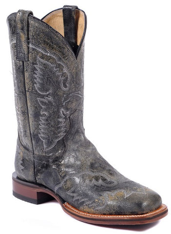 Black Distressed El Paso Falcon Boot