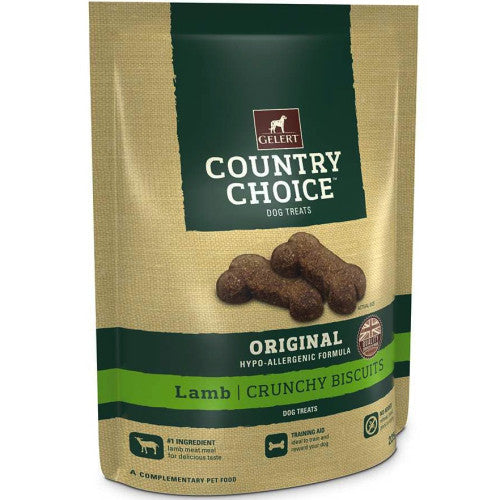 Country Choice Treats - Crunchy Lamb Biscuits
