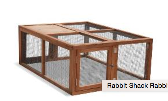 Rabbit Shack Rabbit & Guinea Pig Run