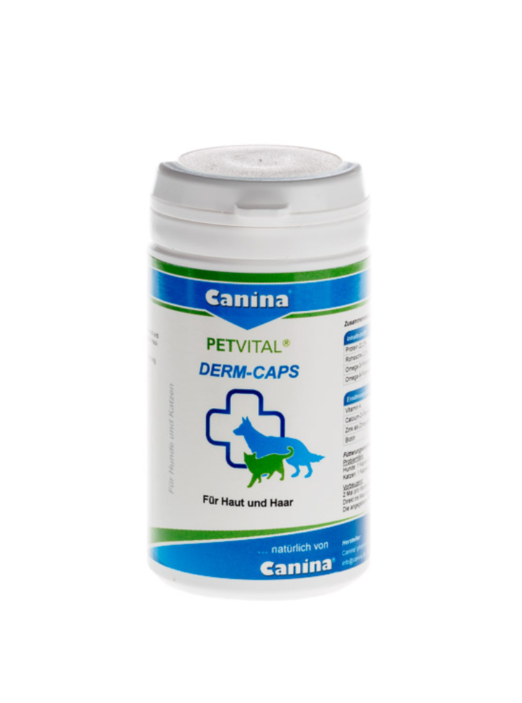Canina PETVITAL® DERM-CAPS 40g (approx. 100 capsules)