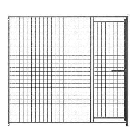 Dog Run Galvanised Door Panels - 50x50 Mesh