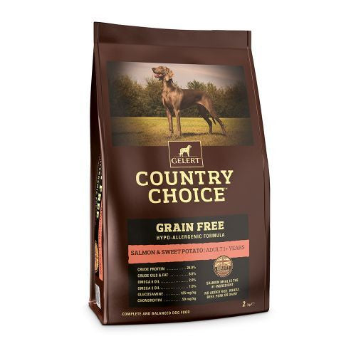 Country Choice Grain Free Adult Dog Food - Salmon