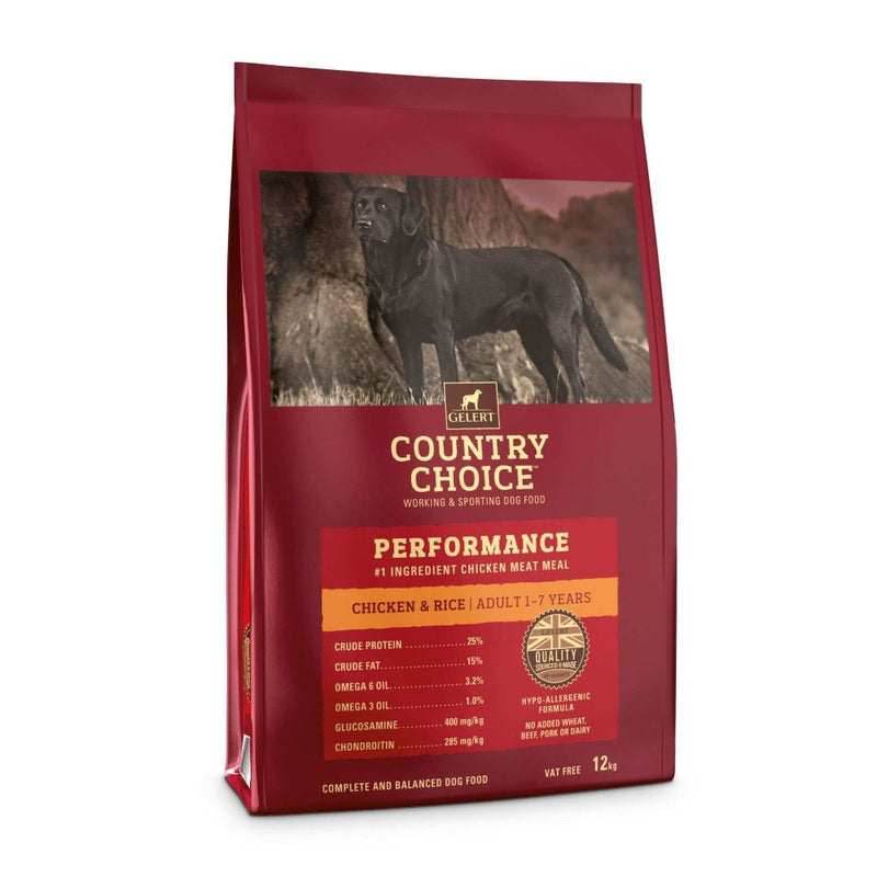 Country Choice Performance Adult Dog Food - Chicken