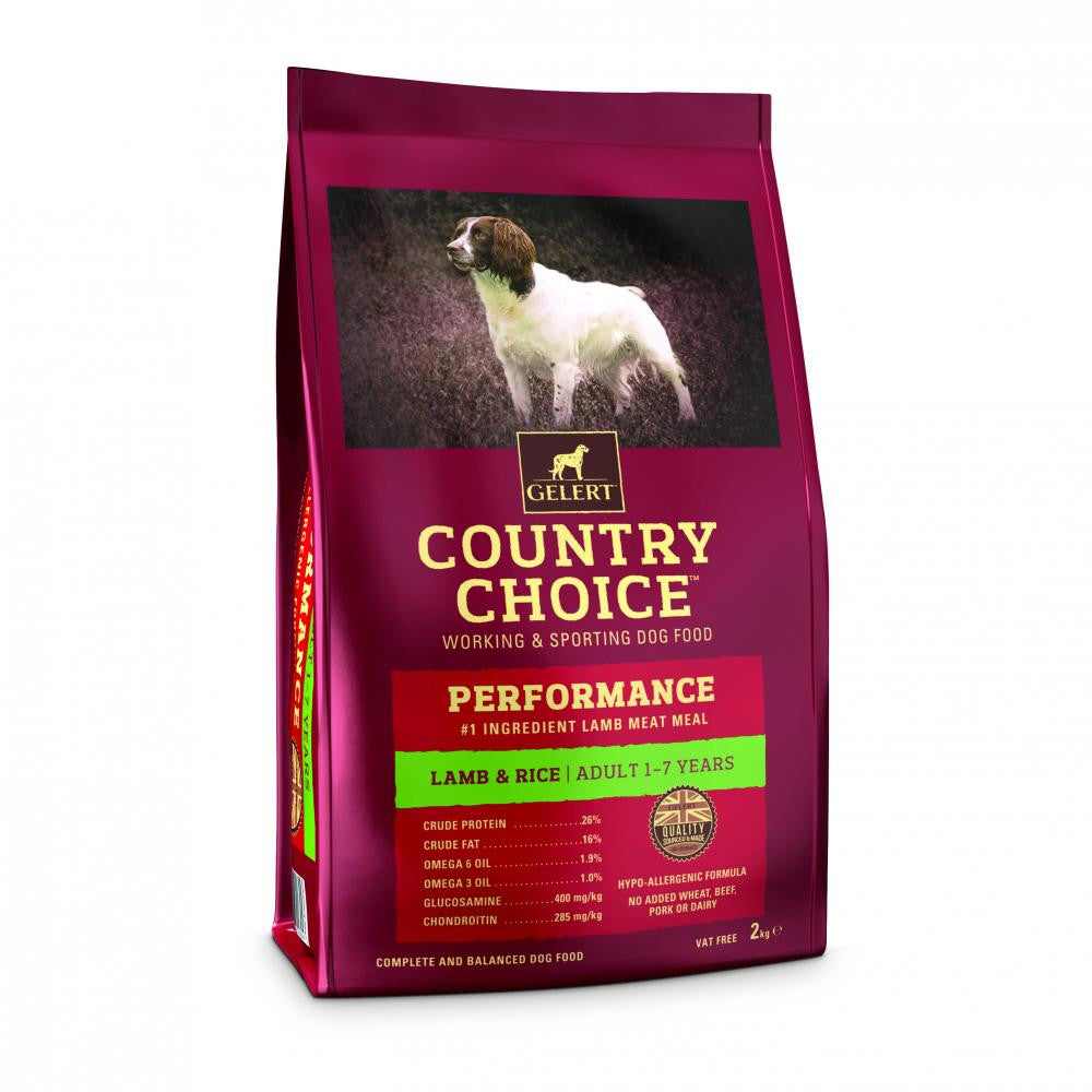 Country Choice Performance Adult Dog Food - Lamb