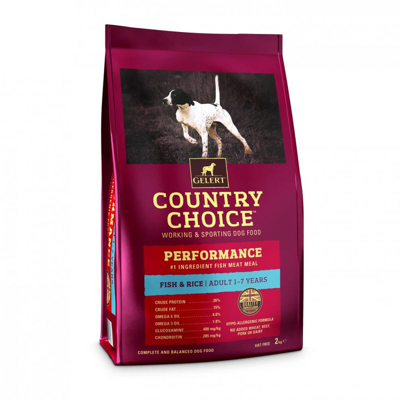 Country Choice Performance Adult Dog Food - Fish
