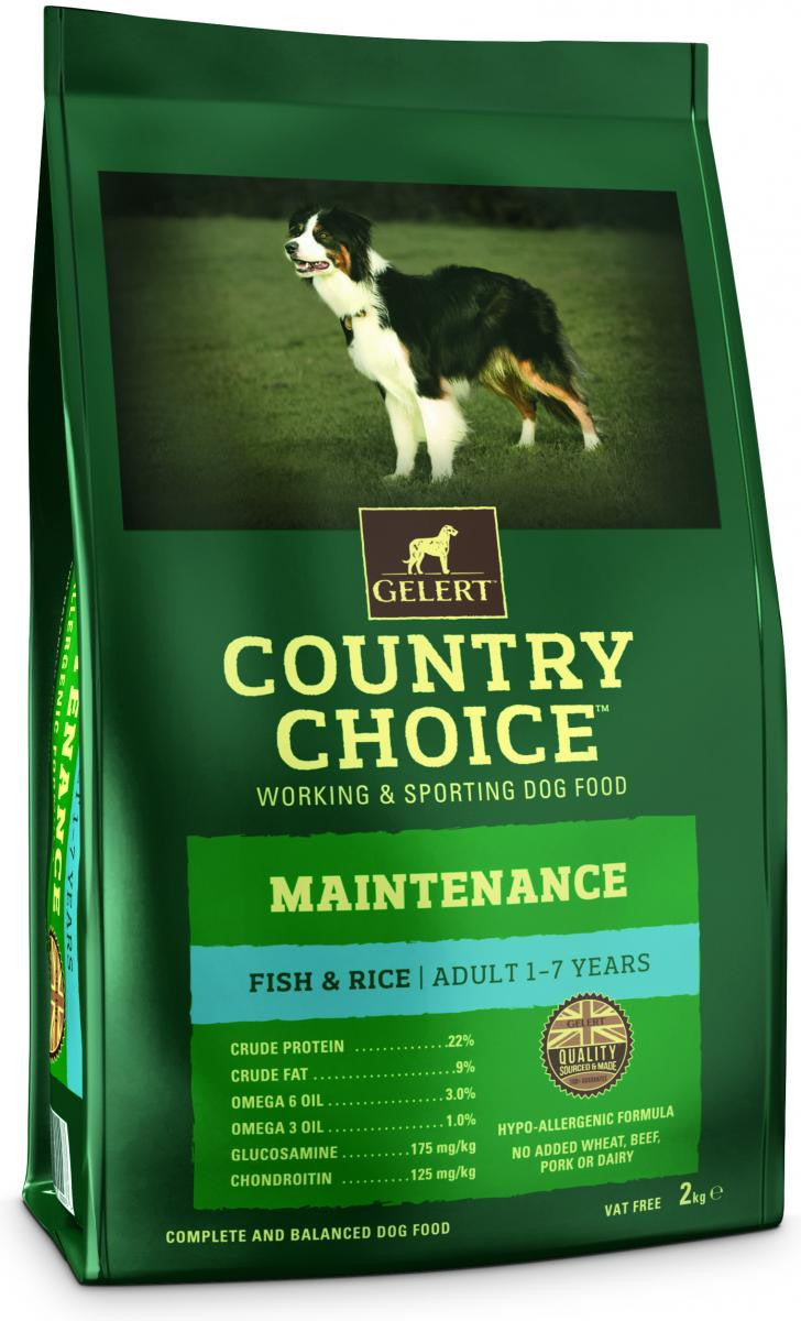 Country Choice Maintenance Adult Dog - Fish