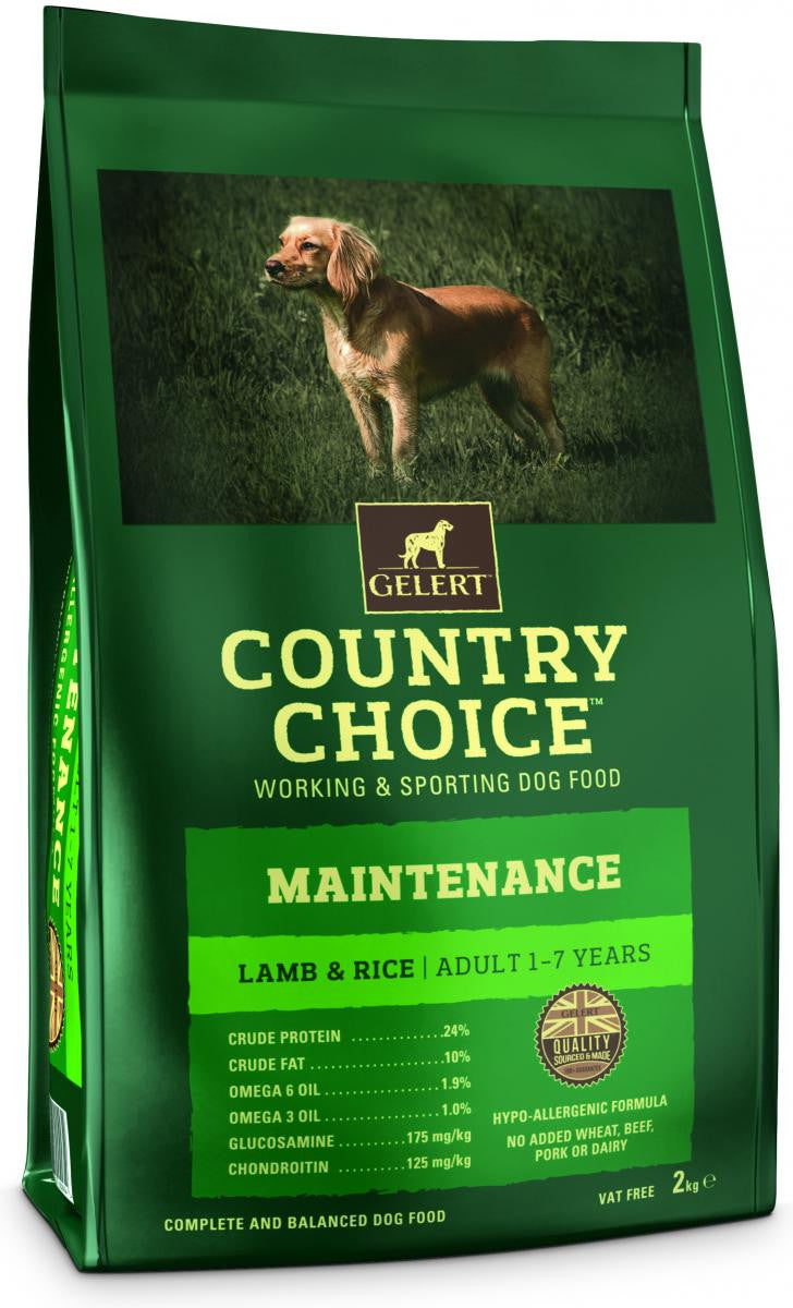 Country Choice Maintenance Adult Dog - Lamb