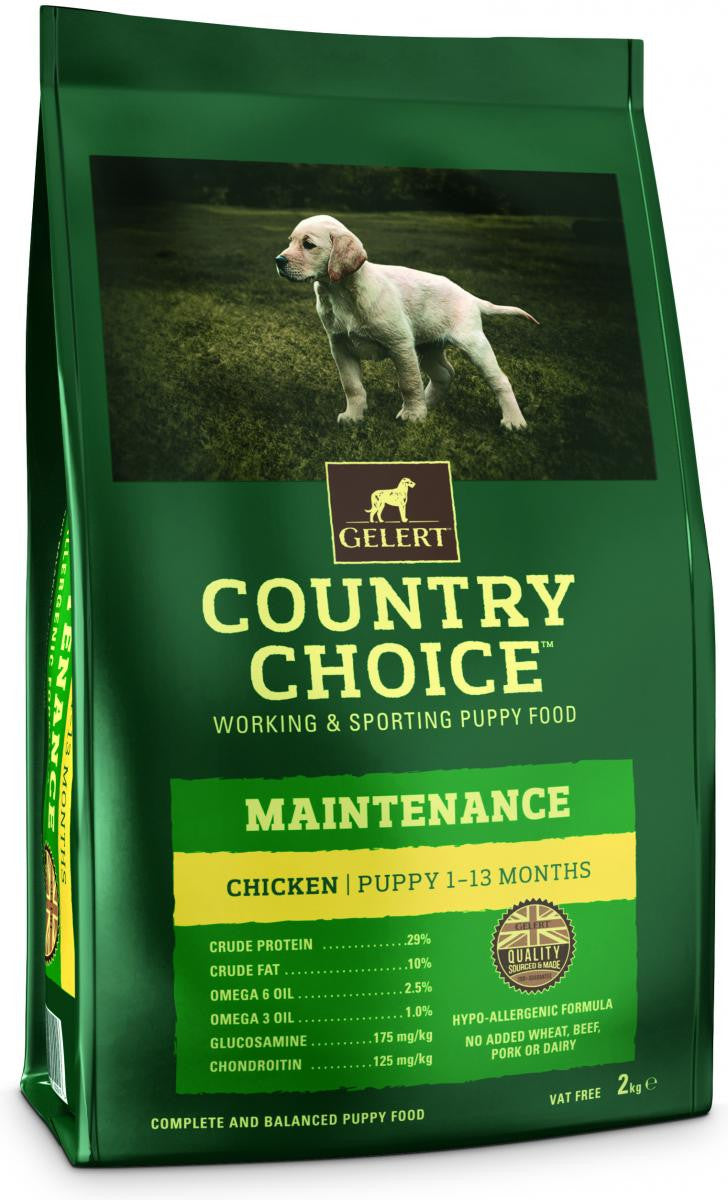 Country Choice Maintenance Puppy - Chicken