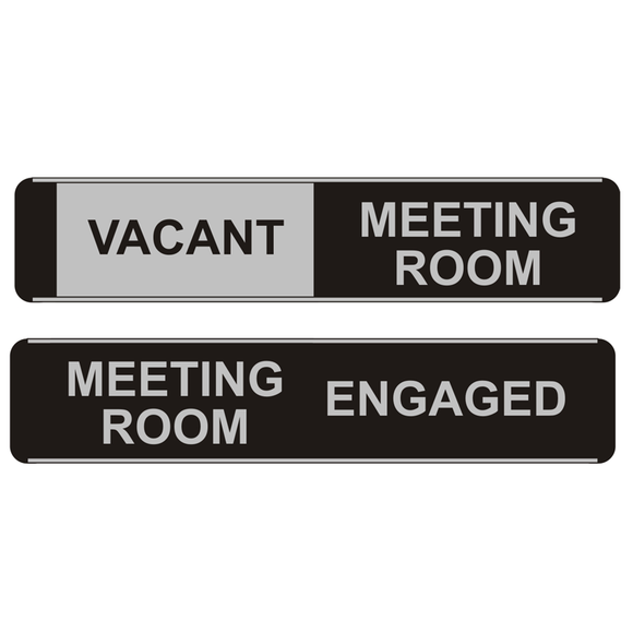 A Sliding Meeting Room Office Door Sign. Novel Idea Online provides a broad selection of Sliding Office Door Signs. Great Value for Money, High Quality and Free Shipping on all orders.