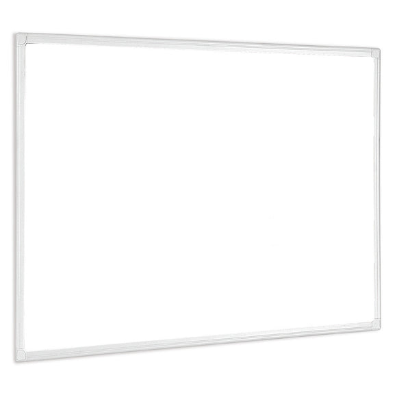 An image of an Aluminium Framed Whiteboard supplied by Novel Idea Online. Great Service and Free Shipping on all orders.