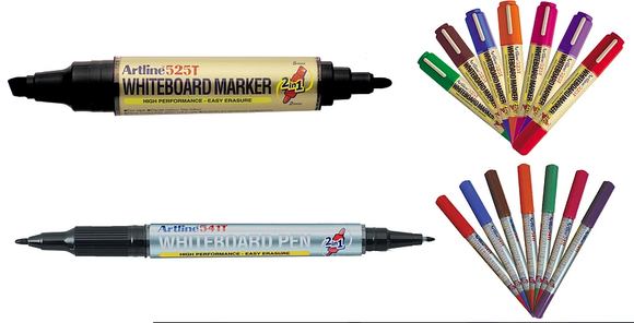Novel Idea Online offer a broad range of Whiteboard Marker Pens. Suitable for use on White Boards. Free Shipping on all our High-Quality Marker Pens.