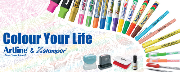 Various Coloured Marker Pens Available. Novel Idea Online offers a wide range of High-Quality Marker pens at Great Value for Money.