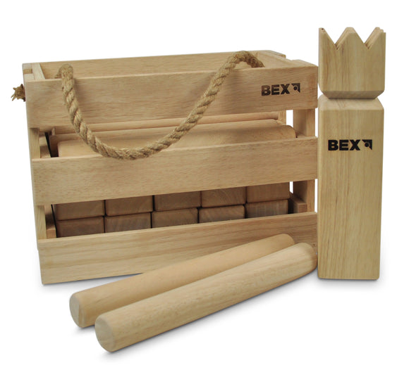Bex, Kubb Original Game in Wooden Box