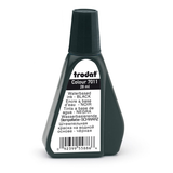 An image of the 25ml Trodat Stamp Pad Ink coming in the colour Black.