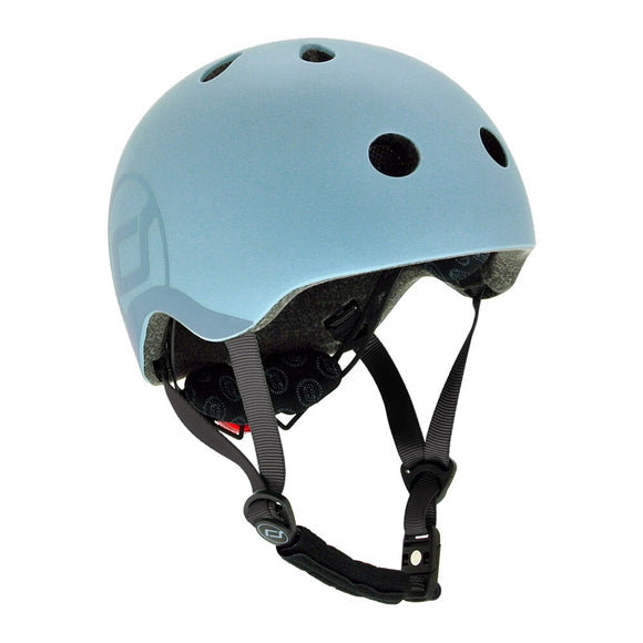 Scoot and Ride Unisex Bicycle Helmet - Size Small-Medium (Head size 51-55cm)